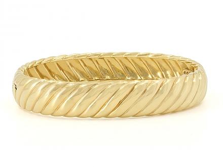 David Yurman Bangle Bracelet in 18K Gold
