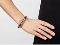 Bulgari Multi-Gemstone and Diamond 'Celtica' Bracelet in 18K Gold