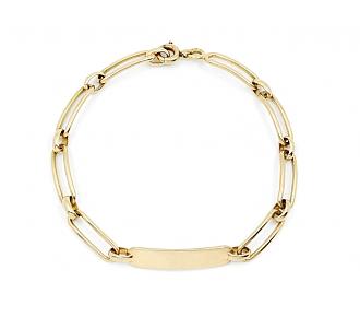 Boucheron ID Bracelet in 18K Gold