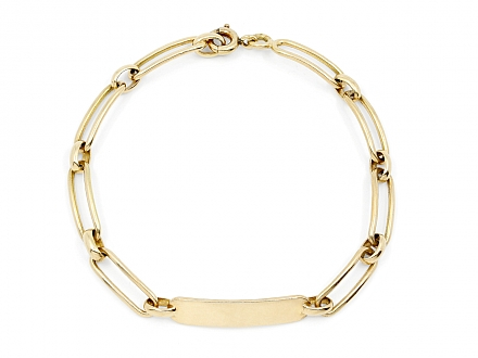 Boucheron ID Bracelet in 18K Gold
