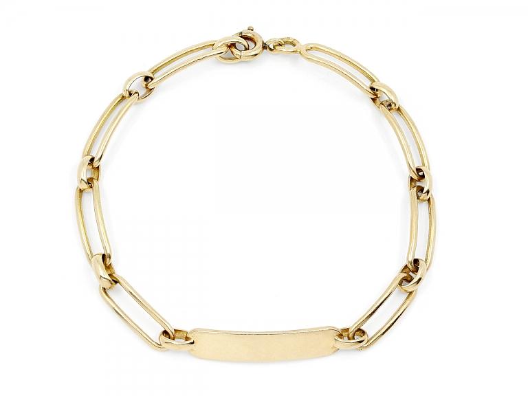 Video of Boucheron ID Bracelet in 18K Gold