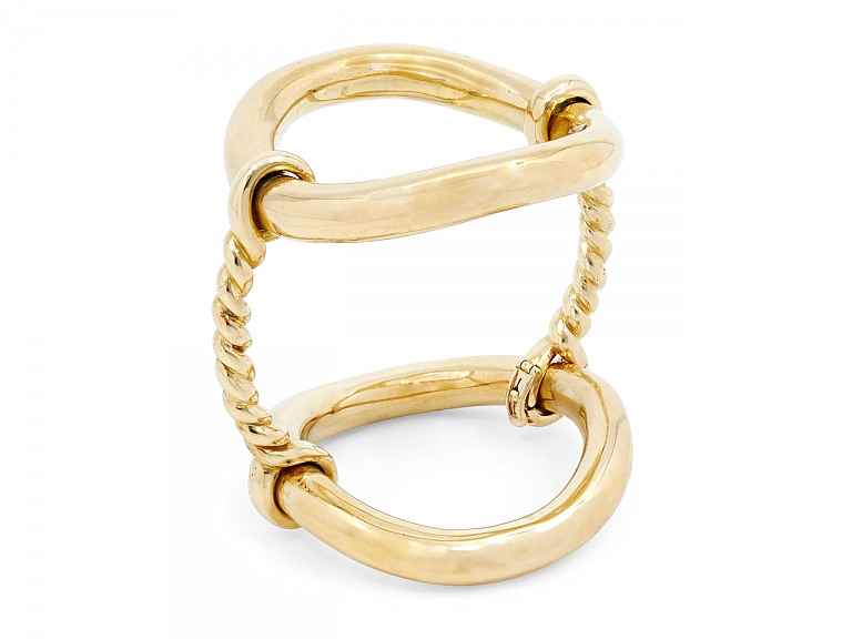 Video of Boucheron Bangle Bracelet in 18K Gold