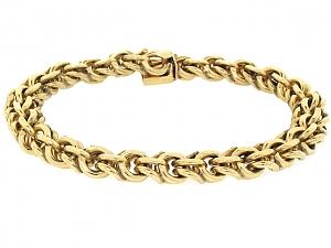 Link Bracelet in 14K