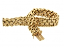 French Link Bracelet in 18K