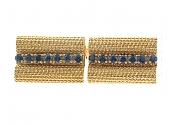 Charles Gold & Co. Sapphire Cufflinks in 18K
