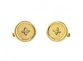 Tiffany & Co. Button Cufflinks in 14K