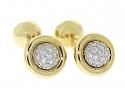 Tiffany & Co. Etoile Diamond Cuffllinks in 18K and Platinum