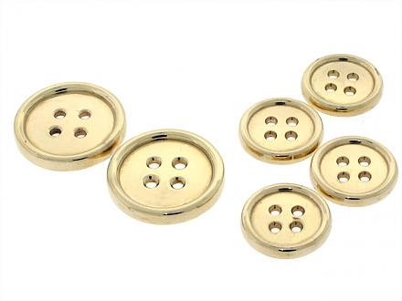 Tiffany & Co. Blazer Buttons in 14K