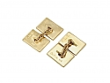 Cartier Ruby Cufflinks in 14K Gold