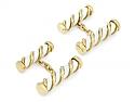 Tiffany & Co. Schlumberger White Enamel Cufflinks in 18K Gold
