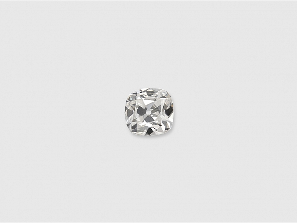 0.31 Carat F/VS-1 Old Cushion-Cut Diamond