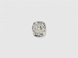 0.37 Carat J/VS-2 Old Mine Cushion-Cut Diamond