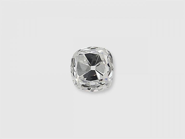 Video of 0.56 Carat E/SI-1 Old Mine Cushion-Cut Diamond