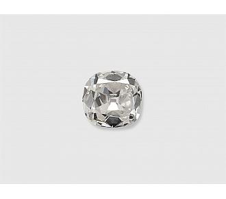 0.59 Carat H/SI-1 Old Cushion-Cut Diamond