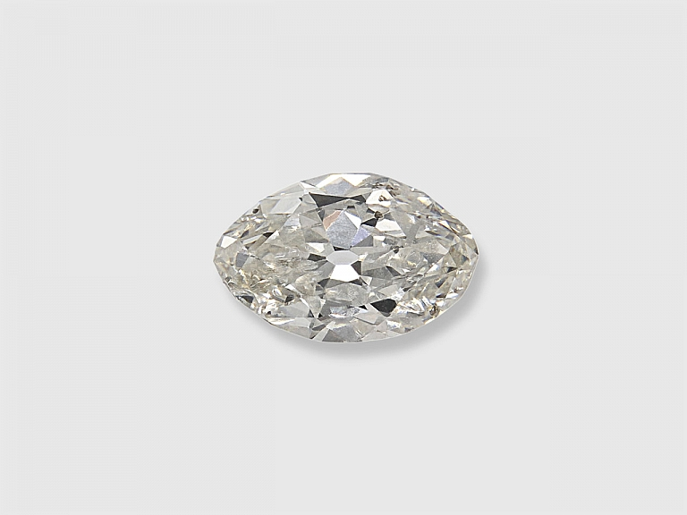 Video of 0.65 Carat H/I-1 Old Marquise-Cut Diamond