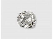 0.88 Carat G/SI-1 Old Mine Cushion-Cut Diamond