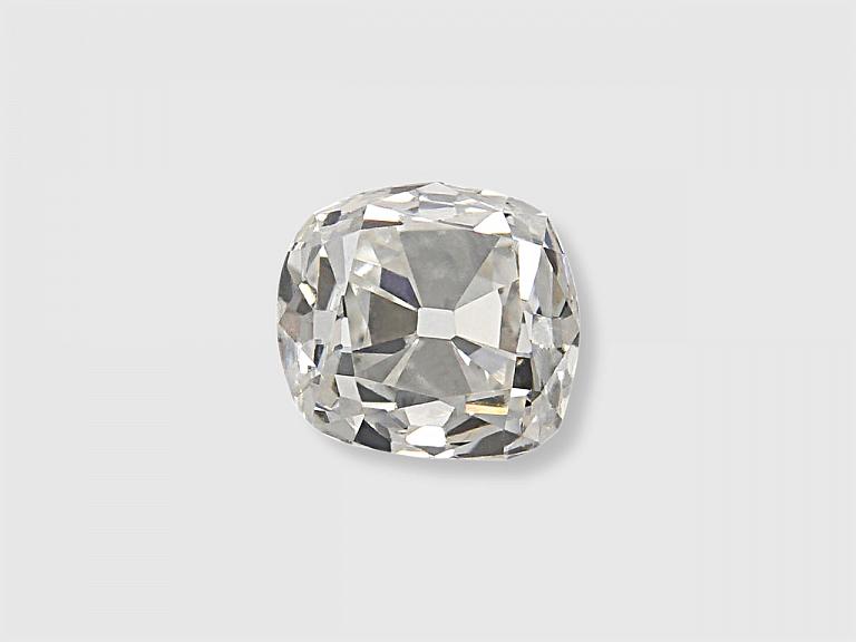 Video of 0.88 Carat G/SI-1 Old Mine Cushion-Cut Diamond