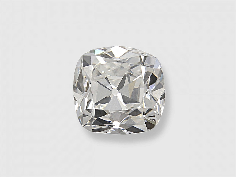 Video of 0.89 Carat F/VS-1 Old Mine Cushion-Cut Diamond