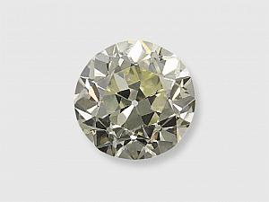 1.20 Carat O-P/VS-1 Old Round Brilliant-Cut Diamond