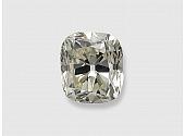 1.39 Carat J/SI-1 Old Cushion-Cut Diamond
