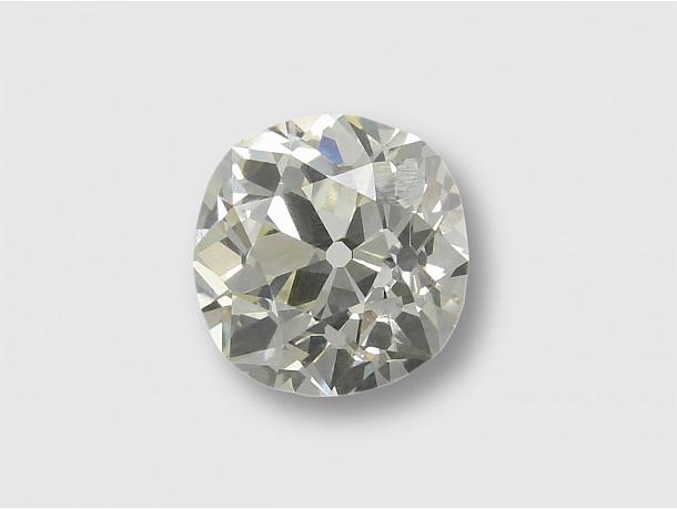 2.82 Carat O-P/VS-2 Old Mine-Cut Diamond
