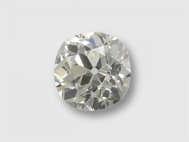 Video of 2.82 Carat O-P/VS-2 Old Mine-Cut Diamond