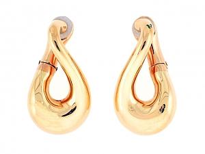 Fred Paris Gold Drop Earrings in 18K