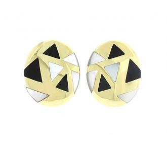 Asch Grossbardt Earrings in 18K