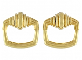 Cartier Aldo Cipullo Door Knocker Earrings in 18K