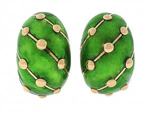 Tiffany & Co. Schlumberger Earrings in 18K