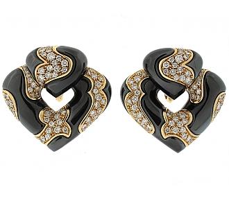 Marina B Diamond Large Pardy Earrings in 18K