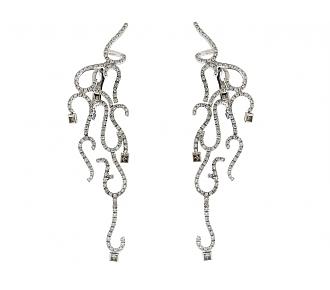 H.Stern Diamond Earrings in 18K
