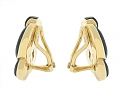 Tiffany & Co. Onyx Earrings in 18K