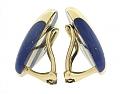 Tiffany & Co. Lapis Earrings in 18K