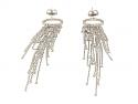 Diamond Dangle Earrings in 18K
