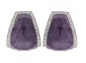 Stephen Webster 'Crystal Haze' Earrings in 18K