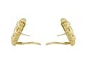 Tiffany & Co. Signature Series 'Woven Heart' Earrings in 18K