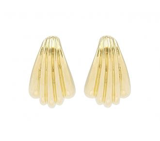 Cartier Hoop Earrings in 18K Gold