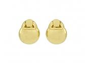 David Webb Gold Earrings in 18K Gold