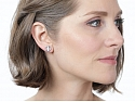 Tiffany & Co. Paloma Picasso Diamond Earrings in 18K