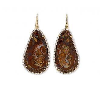 Irene Neuwirth Boulder Opal Earrings