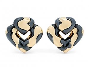 Marina B 'Pardy' Earrings in 18K Gold