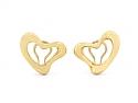 Tiffany & Co. Elsa Peretti Heart Earrings in 18K Gold