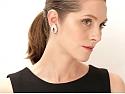 French Diamond Ear-clips in 18K Gold