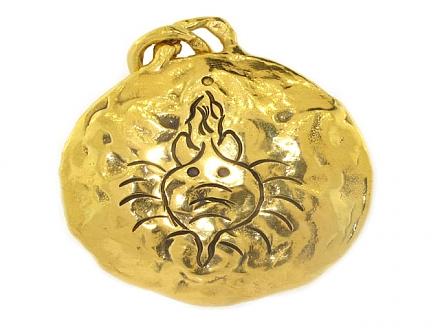 Jean Mahie Gold Pendant in 22K