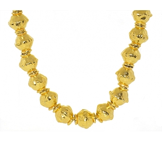Jean Mahie Necklace in 22K