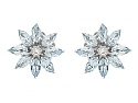 Asprey Blue Topaz and Diamond 'Daisy' Flower Suite in 18K