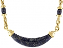 Video of Cartier Aldo Cipullo Sodalite Necklace in 18K