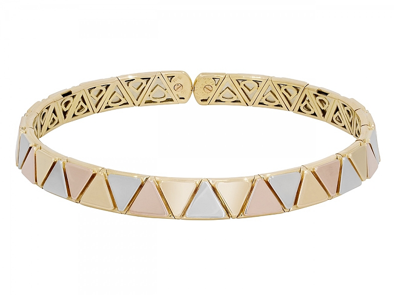 Video of Marina B Collar Necklace in 18K Gold