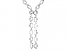 Cartier 'Délices de Cartier Diadéa' Diamond Necklace in 18K White Gold